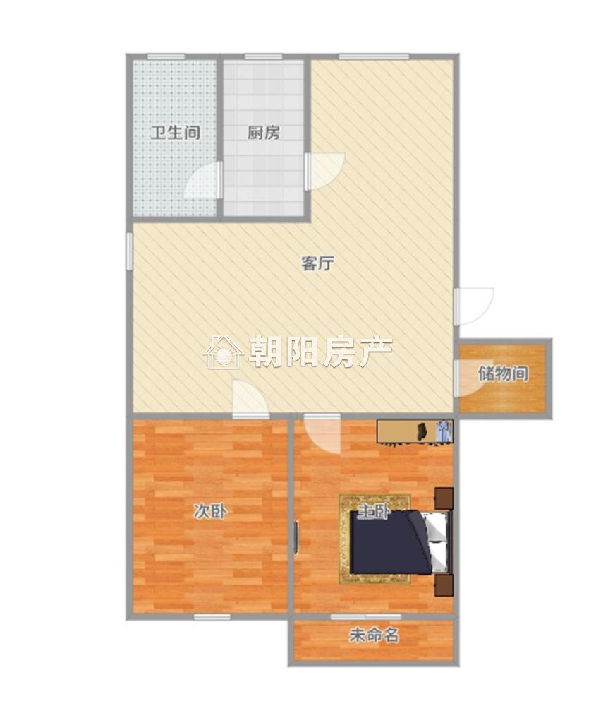 柏郢小区2室2厅中装出售