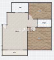 山水居精装2楼2室2厅采光好学区未用出售