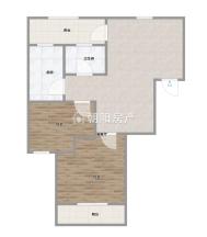 山南印象二中旁简单装修两室两厅出售