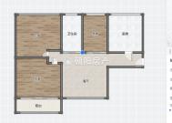 西湖春天3室2厅精装出售 拎包入住学区房