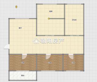 龙腾小区三室一厅精装拎包入住_8