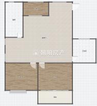优山美地精装3室2厅学区房急售