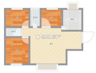 永安国际城精装3室2厅好房出租万达商圈_9