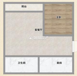 金地国际城二期阳光里 1室1厅精装公寓 出售_10