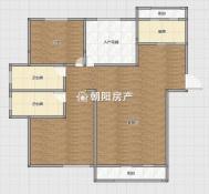中环国际广场荣府3室2厅精装婚房未住 中央空调