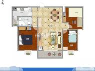 恒大绿洲三室两厅精装修好房急售