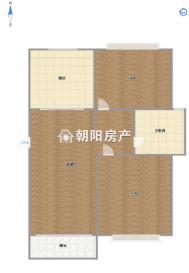 桃源居性价比高2楼精装修两室两厅85平方出售